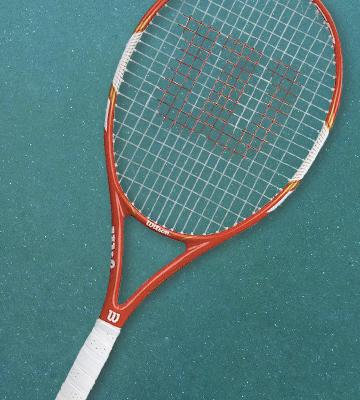 Review of Wilson Federer 105 Tennis Racket + BLX Cover