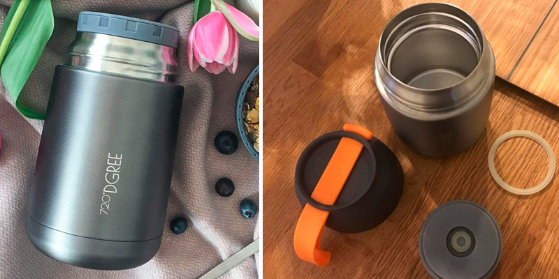 Review of 720°DGREE wunderJar Thermo Food Flask