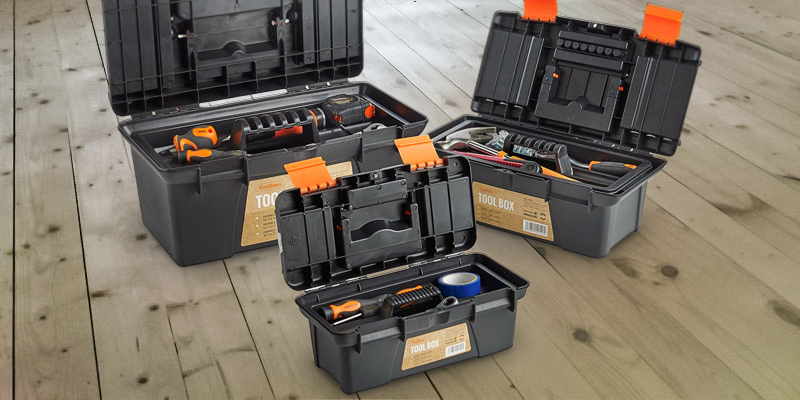 Review of VonHaus 15/009 Portable Tool Box Storage Set