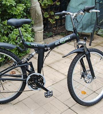 Review of ECOSMO Folding Mountain Bicycle Bike