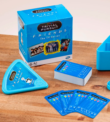 Review of Winning Moves Friends Trivial Pursuit Quiz Game