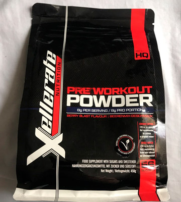 Review of Nu U Nutrition Pre Workout Powder Supplement