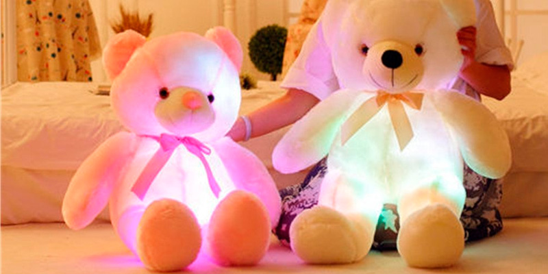 Review of Wewill YZT0176_P Creative Super Cute Shining LED Teddy Bear