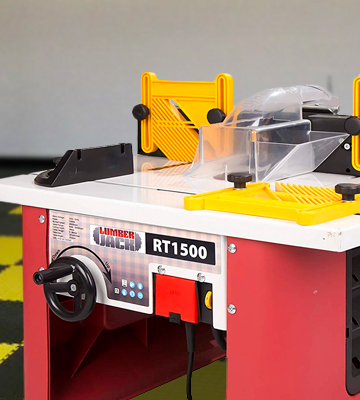Review of Lumberjack RT1500 Bench Top Router Table with Intergrated Router