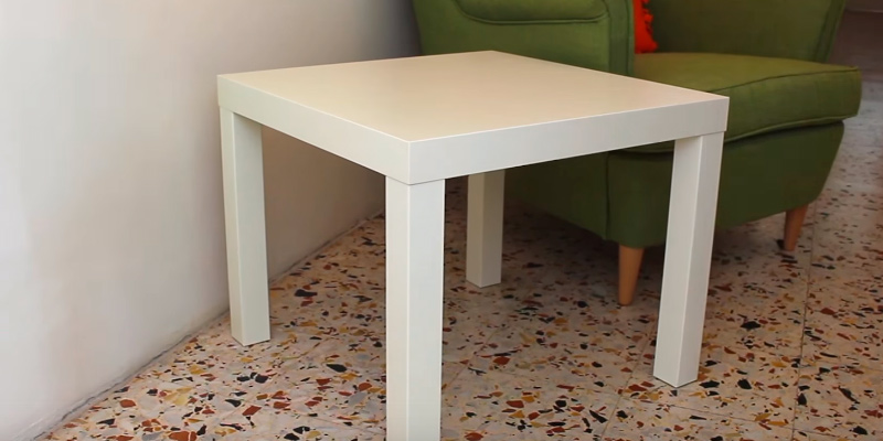 Review of IKEA White Lack Side Table