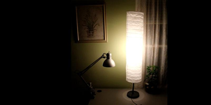 Review of IKEA Rice Paper Shade Floor Lamp