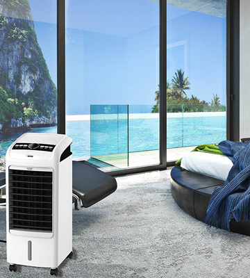 Review of MYLEK Viento Medium Air Cooler with Remote Control & LCD Display