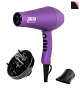 JINRI JR-104D Professional Lightweight Hairdryer with Diffuser