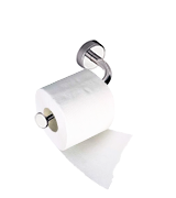 Kapitan Toilet Roll Holder Stainless Steel 3M Self Adhesive or Screws Mounting