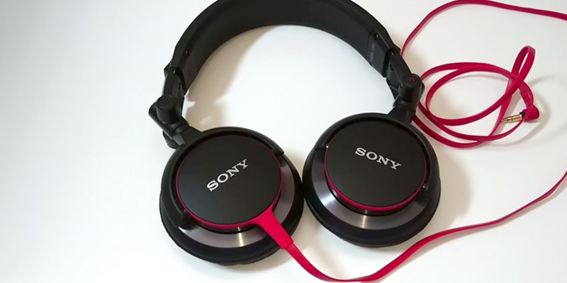 Sony MDR-V55 DJ Stereo Headphones application