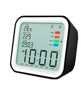 iiwey HO011 Dual Alarm Clocks with Temperature Display