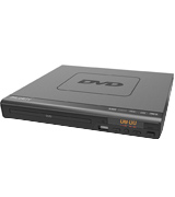 MAJORITY Scholars Milton Compact DVD Player, Multi-Regions 1/2/3/4/5/6, USB port
