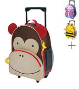 Skip Hop Monkey Kids Zoo Luggage