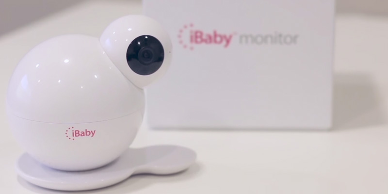 iBabyCare M6S Video Wifi Baby Monitor in the use