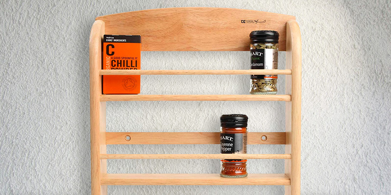 Review of T&G Scimitar 18-Jar Wall Spice Rack