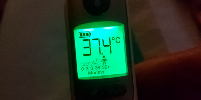 Detailed review of Braun Thermoscan 7 IRT6520 Thermometer