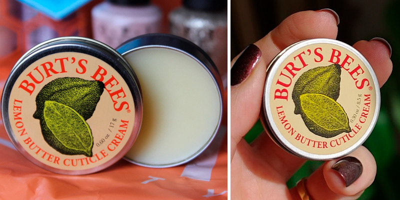 Review of Burt's Bees Lemon Butter Cuticle Cream