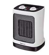 Pro Breeze Mini Ceramic Fan Heater with Automatic Oscillation