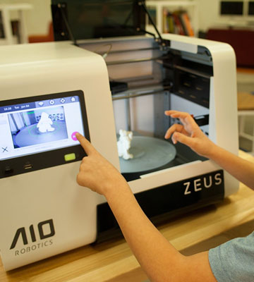 Review of AIO Robotics Zeus All-In-One 3D Printer
