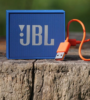 Review of JBL GO+ Portable Rechargeable Bluetooth Speaker with Aux-In Compatible, Blue