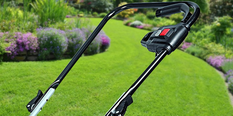 Einhell GE-EM 1233 Electric Rotary Lawnmower in the use