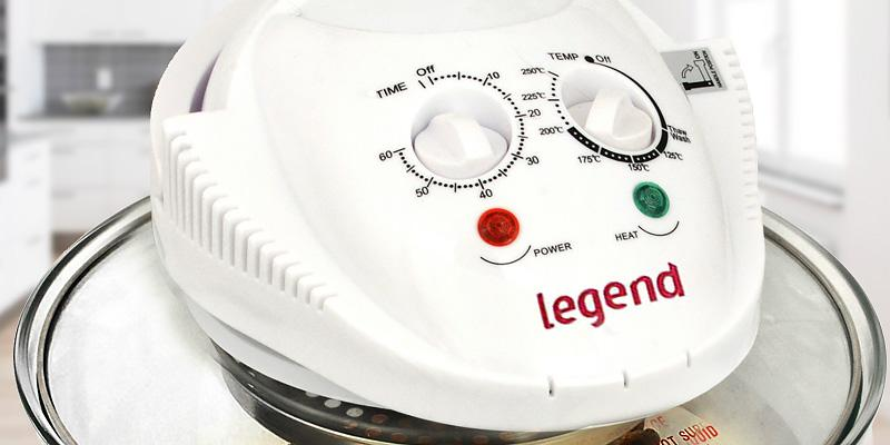 Legend Halogen Oven in the use