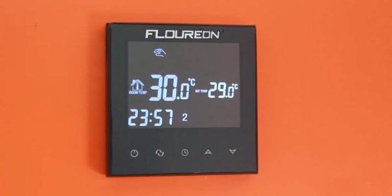 Review of Floureon Smart WIFI Thermostat