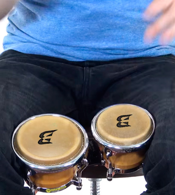 Review of Bryce LZHB-1110 Mini Bongos, 5 inch and 4 inch