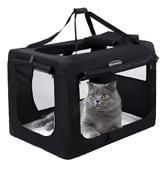 SONGMICS PDC50H Portable Folding Fabric Pet Carrier