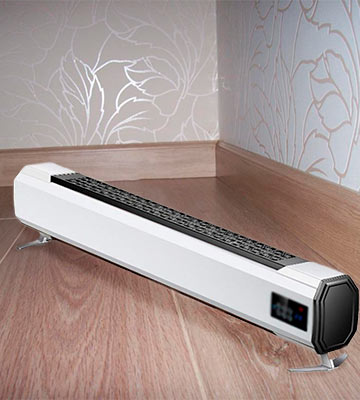 Review of ZZHF Baseboard Heater with Adjustable Thermostat
