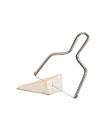 Jamonprive Lyre Cheese Slicer with Wire Cutter & Stainless Steel Handle