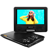 Apeman JG-PV770-UK 7.5'' Portable DVD Player with 4 Hours Built-in Rechargeable Battery