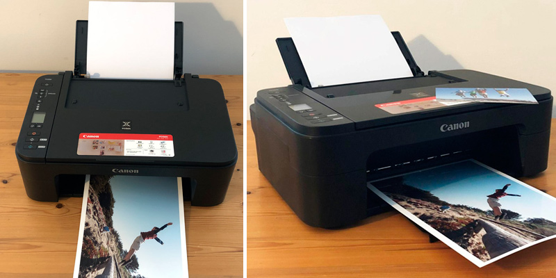 Canon Pixma TS3350 All-in-One Inkjet Printer in the use