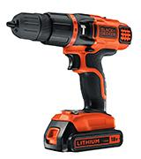 Black & Decker EGBL188K-GB 18 V Lithium Ion 2 Gear Hammer Drill
