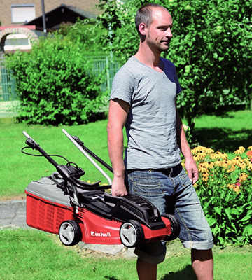 Review of Einhell GE-EM 1233 Electric Rotary Lawnmower