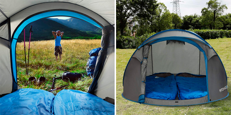 Review of Active Era Pitch & Go 2.0 Waterproof Pop-Up Tent