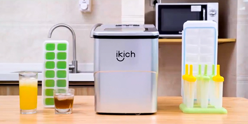 Review of IKICH 2-liter Ice Maker Machine