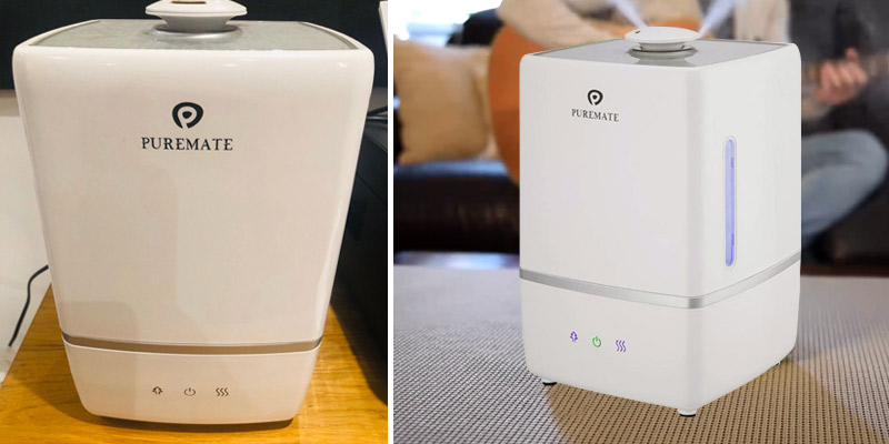 Review of PureMate Cool & Hot Mist Humidifier 5L Ultrasonic