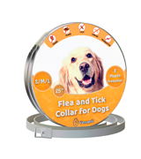 Vienapoli Flea and Tick Collar for Small, Medium and Large Dogs