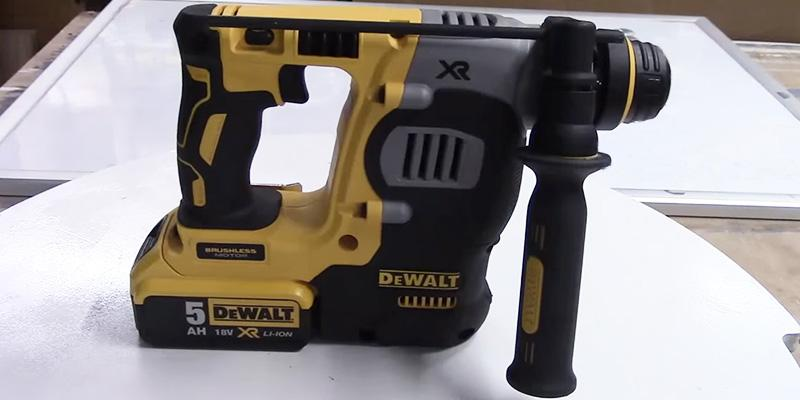 DEWALT DCH253N-XJ Lithium-Ion SDS Plus Body Only Rotary Hammer Drill in the use
