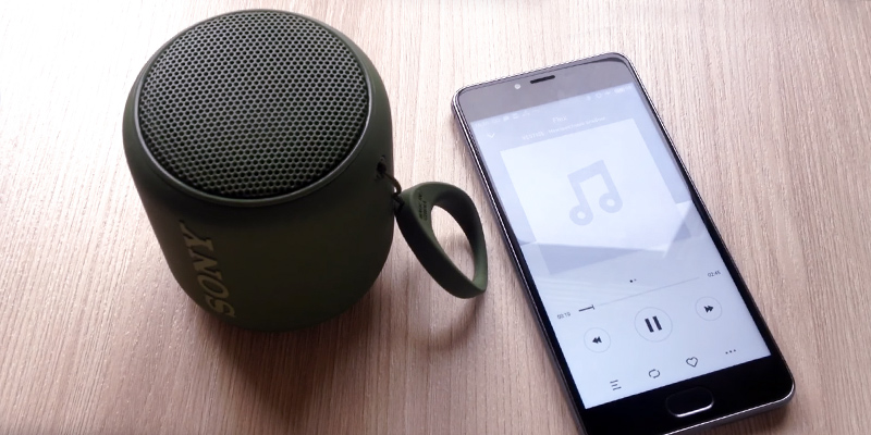 Review of Sony SRS-XB10 Portable Bluetooth Speaker