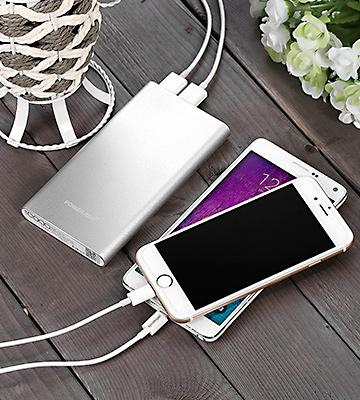 Review of Poweradd Pilot 2GS (MP-1310SL) 10000mAh Dual-Port Portable Charger External Battery Power Bank
