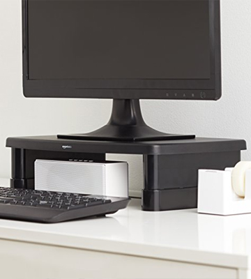 Review of AmazonBasics DHMSA Adjustable Monitor Stand