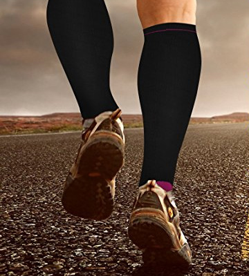 Review of Bionix Professional Support Compression Socks For Men and Women 20-30mmhg Best Graduated Athletic Fit for Running, Shin Splints, Varicose veins, Maternity Pregnancy, Flight Travel, Nurses Work