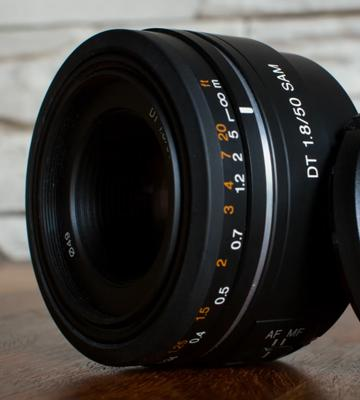 Review of Sony DT SAL50F18 Lens