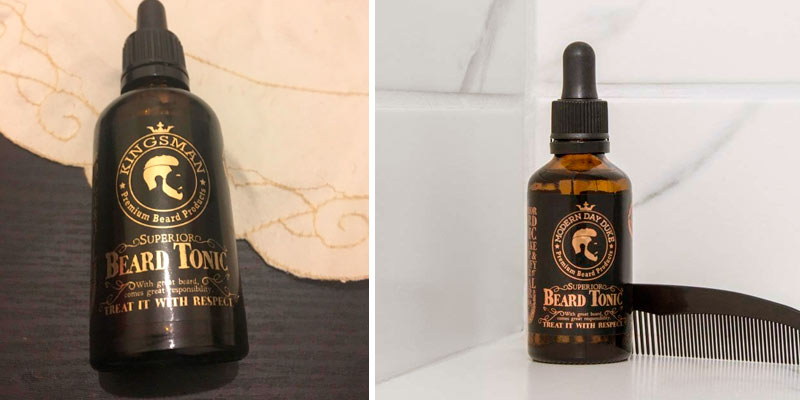 Review of Modern Day Duke Argan, Coconut and Patchouli Beard Growth Oil