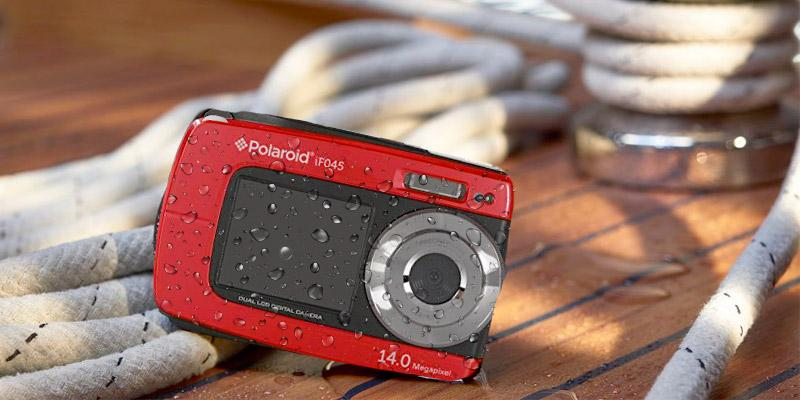 Review of Polaroid IF045 Waterproof Dual Screen Digital Camera