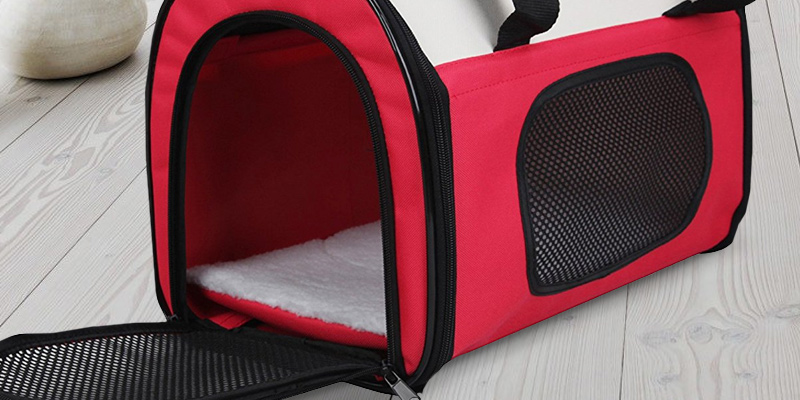 Review of Petsfit 002F2 Lightweight Fabric Pet Carrier with Fleece Mat