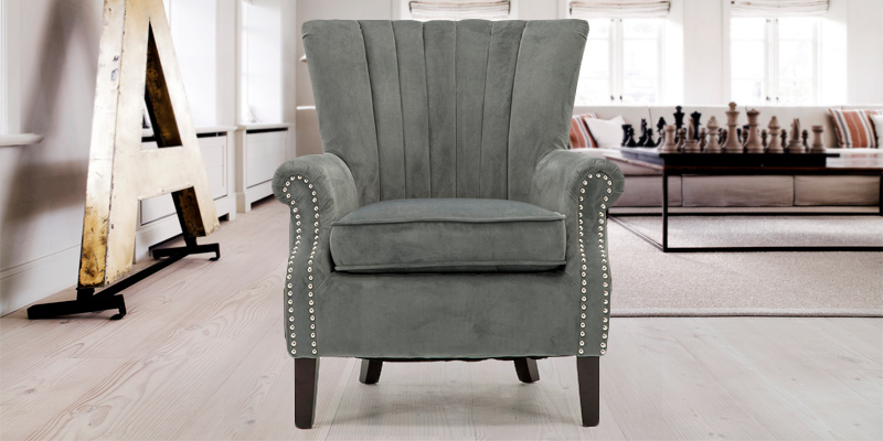 Review of Cosy Chair OLENKA VELVET Occasional Wing Back Chair