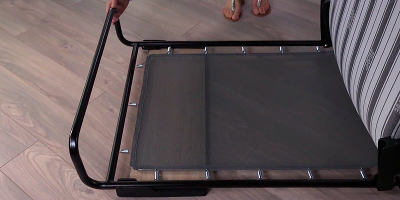 Detailed review of Jay-Be Revolution Folding Bed with Airflow Fibre Mattress with Powder Coat